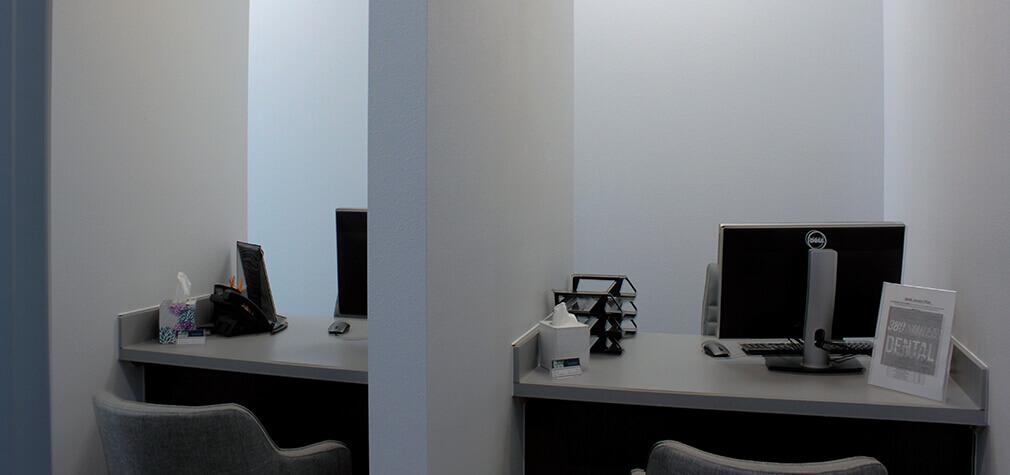 office consultation area